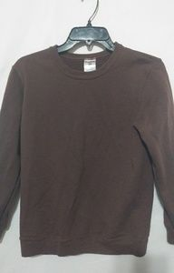 Jerzees Brown Sweatshirt Sz M